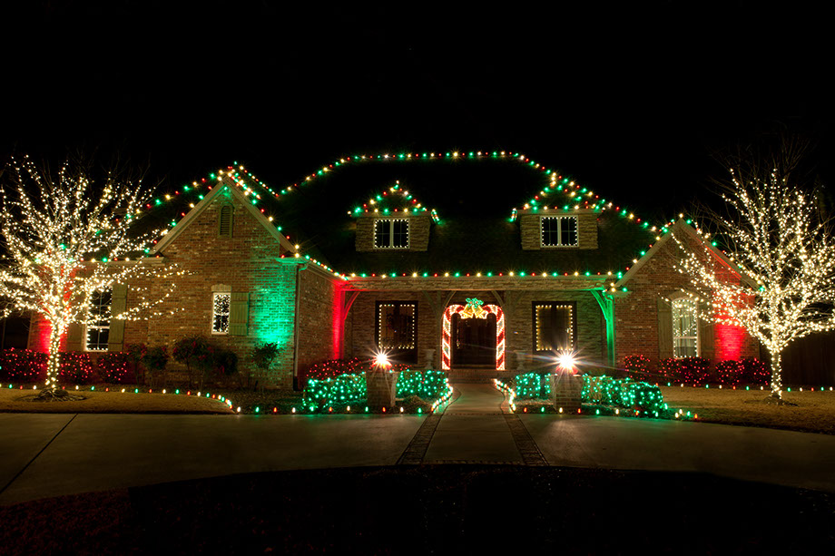 view more of our work - Outdoor Christmas Light Decorators
