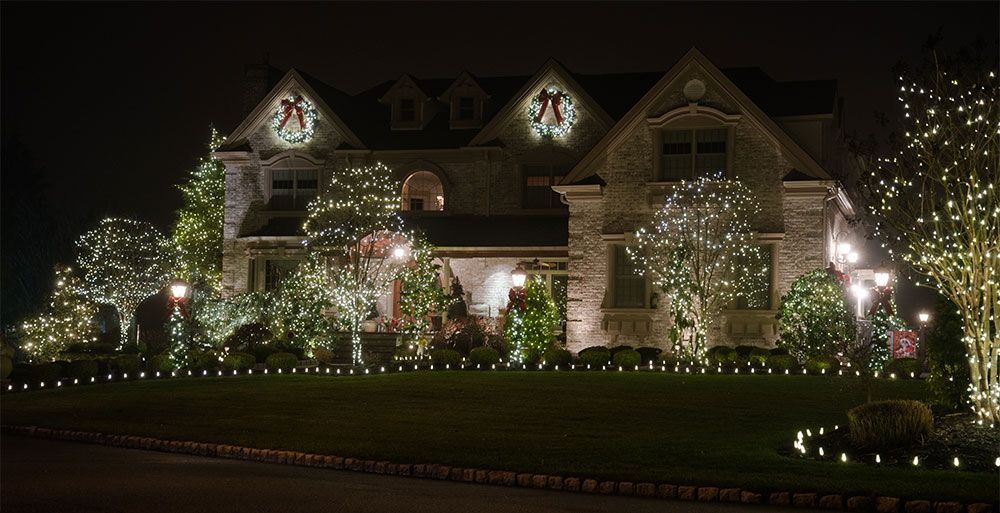 Holiday Decorations, Christmas Lights Installation New Jersey
